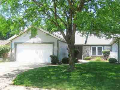 West Lafayette IN Condo/Townhouse For Sale: $155,600