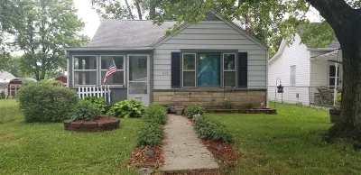 Kokomo IN Single Family Home For Sale: $43,900