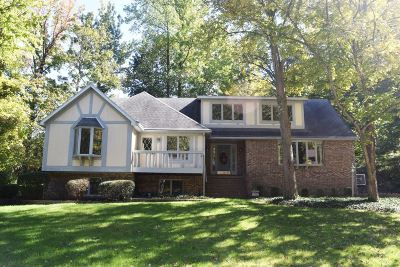Evansville Single Family Home For Sale: 3981 Wood Castle Road