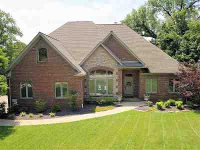 Evansville Single Family Home For Sale: 701 Cobblestone Drive