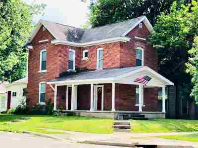 Marion Single Family Home For Sale: 1203 W Spencer Ave