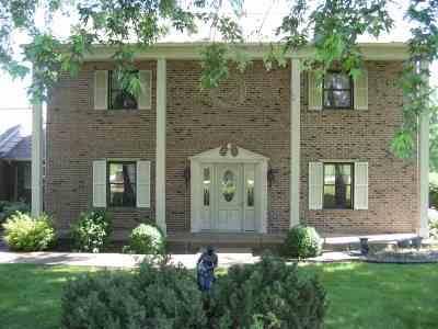 Evansville Single Family Home For Sale: 12015 Lake Ridge