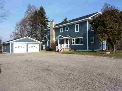 Culver IN Single Family Home For Sale: $395,000