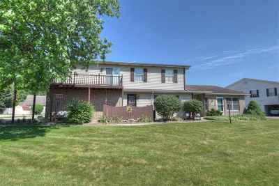 Elkhart Condo/Townhouse For Sale: 1726 Fortino Court #D