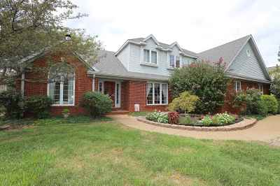 Evansville Single Family Home For Sale: 8500 Clarendon