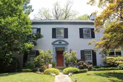 Evansville Single Family Home For Sale: 852 S Alvord Boulevard