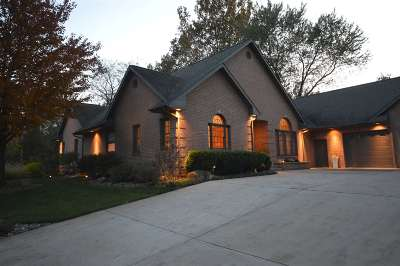 Goshen Single Family Home For Sale: 22410 Canyon River Drive