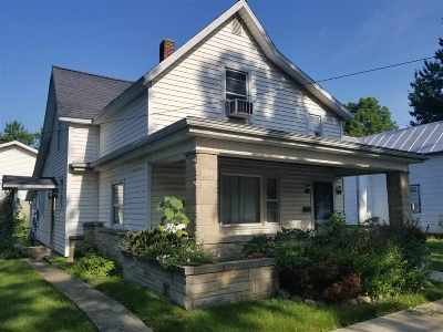 Fairmount Single Family Home For Sale: 317 N Mill Street