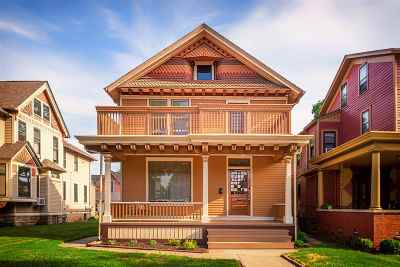Fort Wayne Single Family Home For Sale: 914 W Wayne