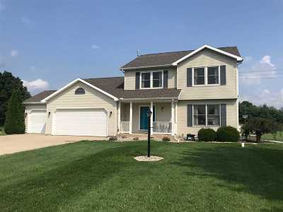 Warsaw Single Family Home For Sale: 5028 N Bobwhite Drive