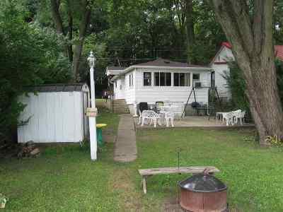 Kosciusko County Single Family Home For Sale: 10094 S Loon Lake Park Avenue