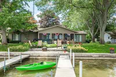 Steuben County Single Family Home For Sale: 55 Lane 207a Hamilton Lake