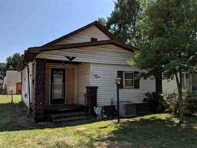 Evansville IN Single Family Home For Sale: $35,000