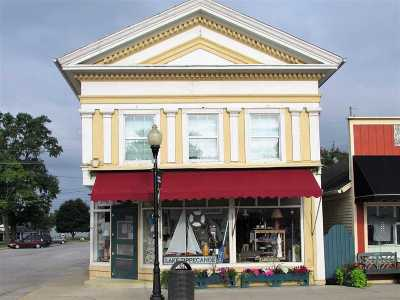 North Webster Commercial For Sale: 102 N Main St Street