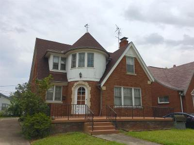Evansville IN Single Family Home For Sale: $95,000