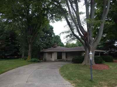 Elkhart Single Family Home For Sale: 3436 Grady Boulevard