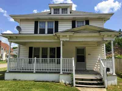 Plymouth Single Family Home For Sale: 830 N Michigan Street
