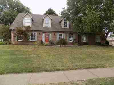 Newburgh Single Family Home For Sale: 3122 Deer Pointe Drive