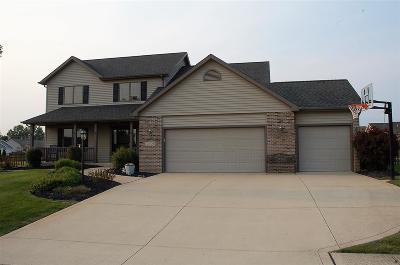 Allen County Single Family Home For Sale: 10109 Amstutz Knolls