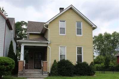 Fort Wayne Single Family Home For Sale: 717 Madison