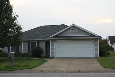 Huntingburg Single Family Home For Sale: 1710 Redbud Court