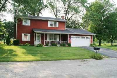 Wabash Single Family Home For Sale: 1960 Glendale Dr
