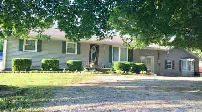 Spencer County Single Family Home For Sale: 8566 W Parker St