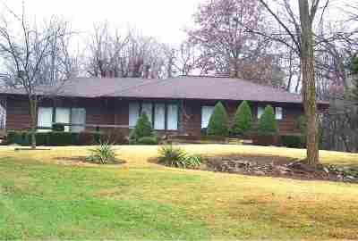 Evansville IN Single Family Home For Sale: $215,000