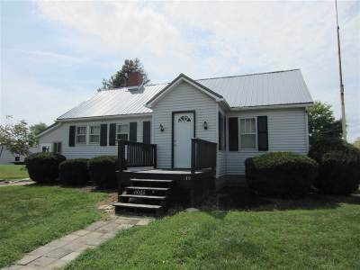 Princeton IN Single Family Home For Sale: $109,900