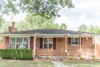 Evansville IN Single Family Home For Sale: $159,900