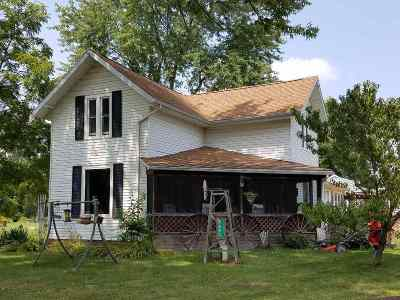 Spencerville IN Single Family Home For Sale: $79,900