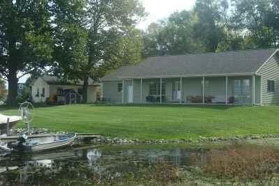 Angola Single Family Home For Sale: 80 Lane 105 Lime Lake/Gage