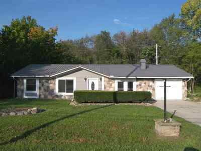 Syracuse Single Family Home For Sale: 11437 NE Wawasee Drive