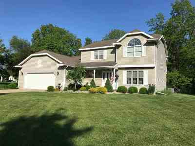 Plymouth IN Single Family Home For Sale: $214,900