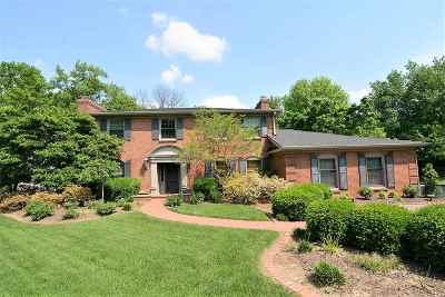 Evansville Single Family Home For Sale: 236 E Buena Vista Road