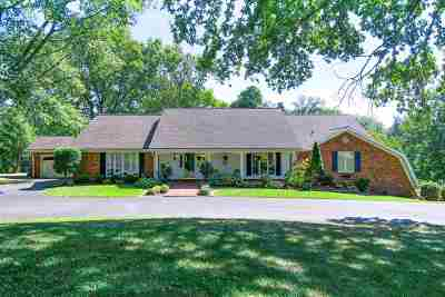 Evansville Single Family Home For Sale: 8805 N Petersburg Road