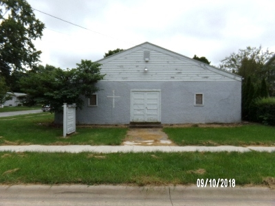Angola Commercial For Sale: 212 E Mill Street