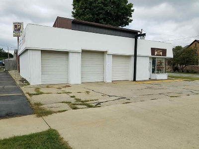 Steuben County Commercial For Sale: 400 W Maumee Street