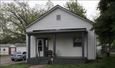 Evansville Single Family Home Back On Market: 1400 S Bedford Avenue