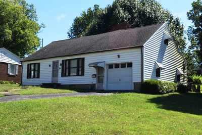 Evansville Single Family Home For Sale: 3114 W Franklin Street