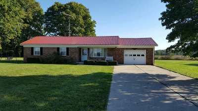 Fairmount Single Family Home For Sale: 11111 S Wheel Pike