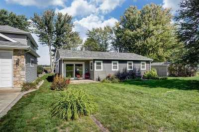 Warsaw Single Family Home For Sale: 1761 Chapman Lake Drive