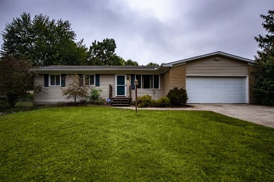 Elkhart Single Family Home For Sale: 50957 Glick Drive