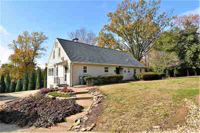 Evansville Single Family Home For Sale: 6401 Newburgh Road