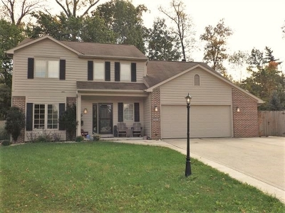 Fort Wayne Single Family Home For Sale: 2802 Shady Hollow Place
