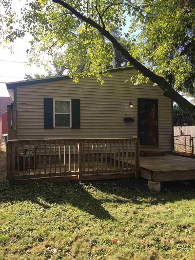 Fort Wayne Single Family Home For Sale: 2514 Dodge Avenue
