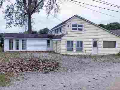 North Webster Single Family Home For Sale: 61 Ems W29 B Lane