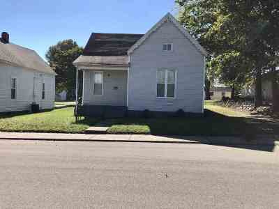 Boonville Single Family Home For Sale: 315 Maple Street