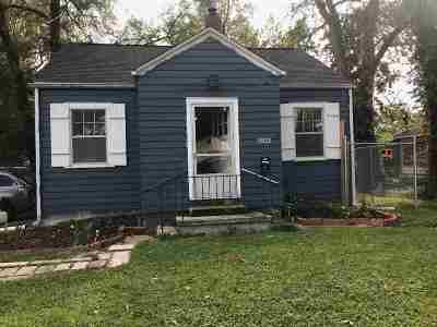 Fort Wayne IN Single Family Home For Sale: $35,500