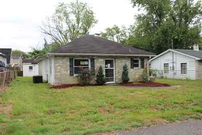 Evansville IN Single Family Home For Sale: $36,000
